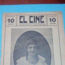 Cine: REVISTA EL CINE 1916 10 JUNIO Nº 230 AÑO V FAVORITA REVISTA POPULAR ILUSTRADA 10 CTS. 20 PGS. Lote 106012635