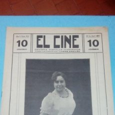 Cine: REVISTA EL CINE 1916 29 ABRIL Nº 224 AÑO V ¿? EN LA PELÍCULA REVISTA POPULAR ILUSTRADA 10 CTS 20 PGS. Lote 106018411