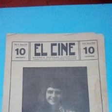 Cine: REVISTA EL CINE 1916 Nº 218 AÑO V FERNANDA BATTIFERRI REVISTA POPULAR ILUSTRADA 10 CTS. 20 PGS. Lote 106018523