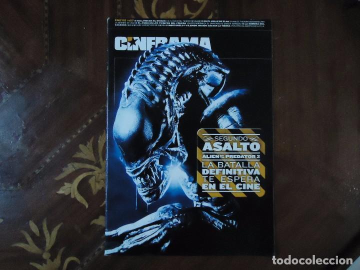 REVISTA. CINERAMA, ENERO 08, NÚMERO 157, CON TODAS LAS NOVEDADES DE LOS ESTRENOS. 60 PÁGINAS. (Cine - Revistas - Cinerama)