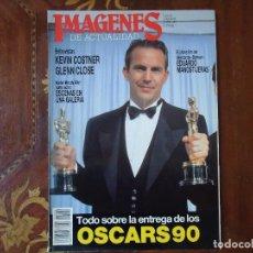 Cinema: REVISTA. IMAGENES DE ACTUALIDAD, AÑO VII NÚMERO 92 ABRIL 1991. VER DATOS.. Lote 106088943