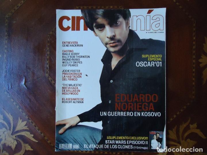REVISTA. CINEMANÍA, NÚMERO, 79 ABRIL 2002. (Cine - Revistas - Cinemanía)