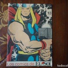 Cine: REVISTA. LOS COMICS DE EL SOL. THOR EL PODEROSO. NÚMERO 13.. Lote 106095083