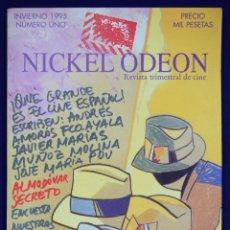 Cine: NICKEL ODEÓN. REVISTA TRIMESTRAL DE CINE. Nº 1 - MARÍAS, MIGUEL / GARCI, JOSÉ LUIS / LAMET, JUAN MIG. Lote 125306448
