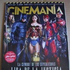 Cine: REVISTA CINEMANIA Nº266 (EN PORTADA:LIGA DE LA JUSTICIA) LEER DESCRIPCION. Lote 106582631