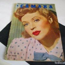 Cine: CAMARA REVISTA DE CINE AÑO 1947 Nº 104 EN PORTADA LILLI PALMER VER TODAS MIS REVISTAS. Lote 106618063