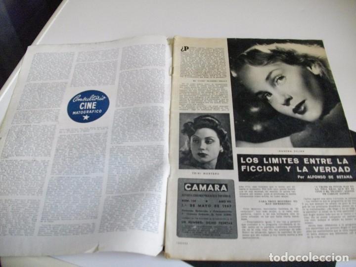 Cine: CAMARA REVISTA DE CINE AÑO 1947 Nº 104 EN PORTADA LILLI PALMER VER TODAS MIS REVISTAS - Foto 2 - 106618063