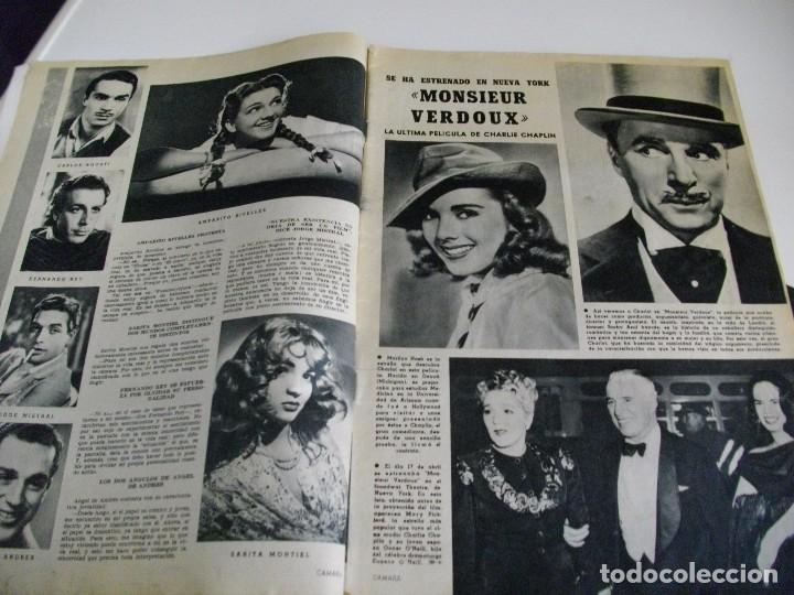 Cine: CAMARA REVISTA DE CINE AÑO 1947 Nº 104 EN PORTADA LILLI PALMER VER TODAS MIS REVISTAS - Foto 3 - 106618063