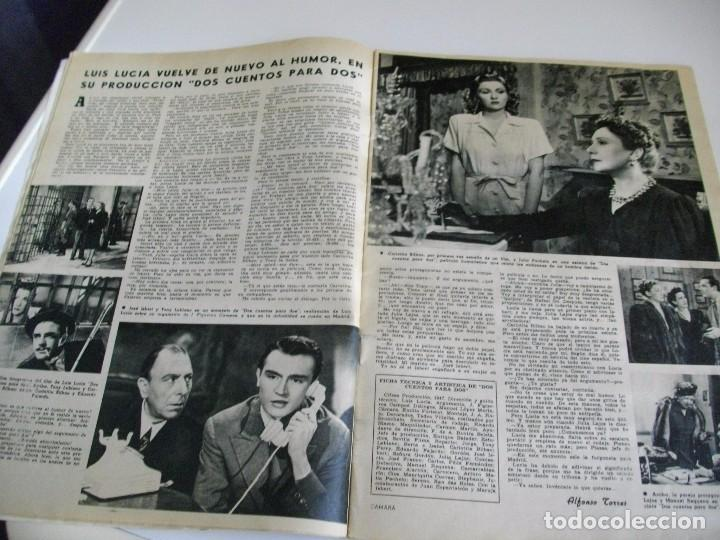 Cine: CAMARA REVISTA DE CINE AÑO 1947 Nº 104 EN PORTADA LILLI PALMER VER TODAS MIS REVISTAS - Foto 7 - 106618063