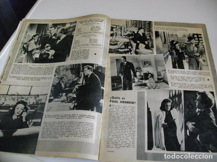 Cine: CAMARA REVISTA DE CINE AÑO 1947 Nº 104 EN PORTADA LILLI PALMER VER TODAS MIS REVISTAS - Foto 8 - 106618063