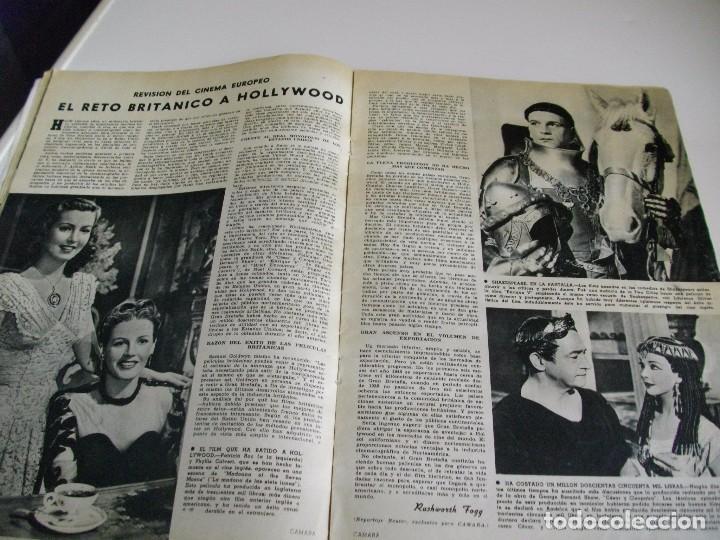 Cine: CAMARA REVISTA DE CINE AÑO 1947 Nº 104 EN PORTADA LILLI PALMER VER TODAS MIS REVISTAS - Foto 9 - 106618063
