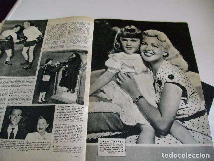 Cine: CAMARA REVISTA DE CINE AÑO 1947 Nº 104 EN PORTADA LILLI PALMER VER TODAS MIS REVISTAS - Foto 10 - 106618063