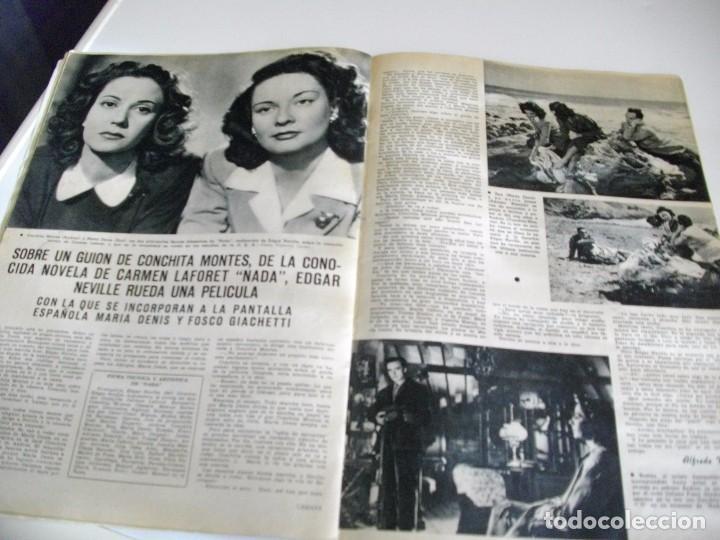 Cine: CAMARA REVISTA DE CINE AÑO 1947 Nº 104 EN PORTADA LILLI PALMER VER TODAS MIS REVISTAS - Foto 11 - 106618063