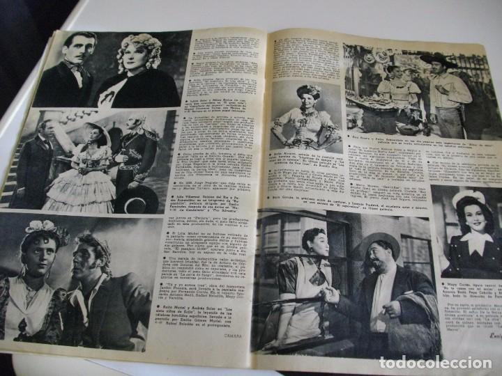 Cine: CAMARA REVISTA DE CINE AÑO 1947 Nº 104 EN PORTADA LILLI PALMER VER TODAS MIS REVISTAS - Foto 13 - 106618063