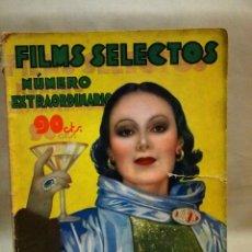 Cine: REVISTA DE CINE, FILMS SELECTOS, NUMERO EXTRAORDINARIO, OCTUBRE DE 1934, DOLORES DEL RIO. Lote 106732047