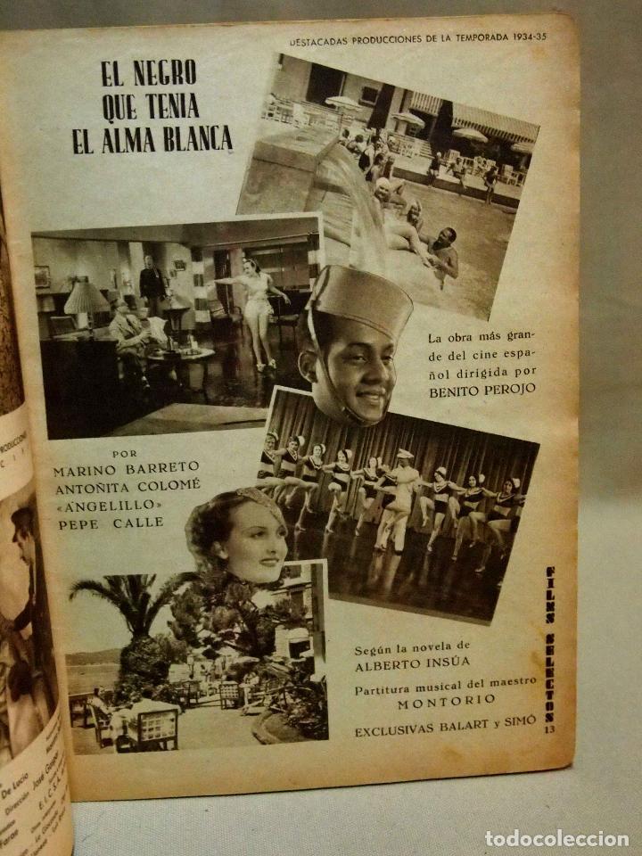 Cine: REVISTA DE CINE, FILMS SELECTOS, NUMERO EXTRAORDINARIO, OCTUBRE DE 1934, DOLORES DEL RIO - Foto 6 - 106732047