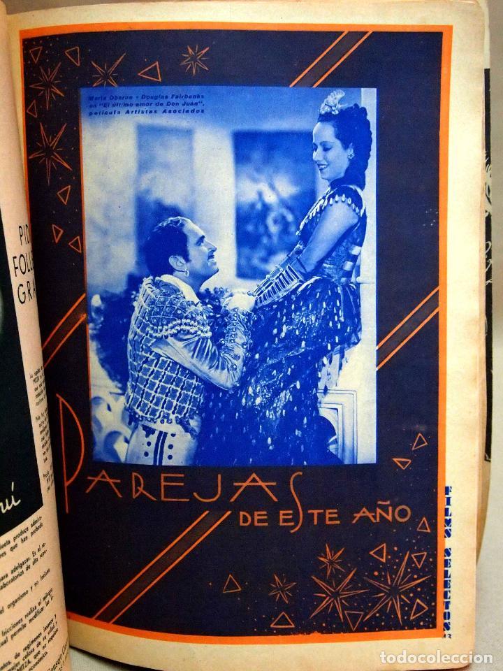 Cine: REVISTA DE CINE, FILMS SELECTOS, NUMERO EXTRAORDINARIO, OCTUBRE DE 1934, DOLORES DEL RIO - Foto 10 - 106732047