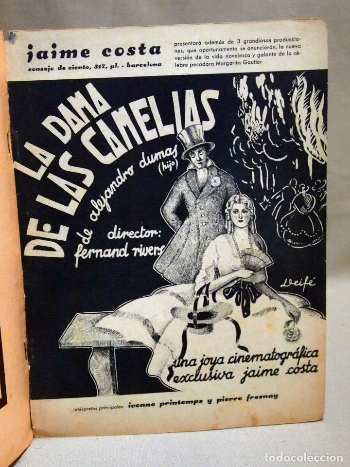 Cine: REVISTA DE CINE, FILMS SELECTOS, NUMERO EXTRAORDINARIO, OCTUBRE DE 1934, DOLORES DEL RIO - Foto 11 - 106732047