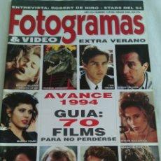 Cine: REVISTA FOTOGRAMAS.N°1 EXTRA VERANO.1993. Lote 106956115