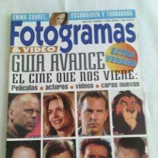 Cine: REVISTA FOTOGRAMAS N°2 EXTRA VERANO 1994. Lote 106956247