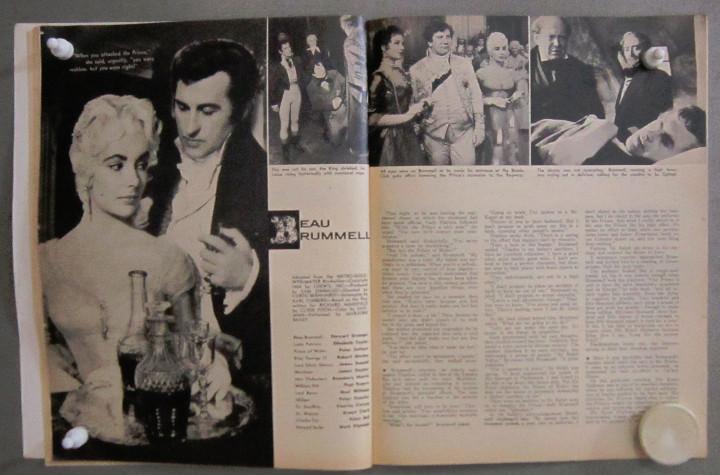 Cine: YD01 ELIZABETH TAYLOR COLECCION DE 8 REVISTAS AMERICANAS SCREEN STORIES 50s - 60s - Foto 2 - 106939263