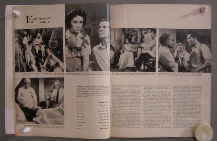 Cine: YD01 ELIZABETH TAYLOR COLECCION DE 8 REVISTAS AMERICANAS SCREEN STORIES 50s - 60s - Foto 4 - 106939263