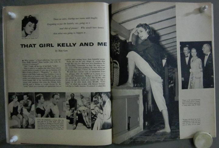 Cine: YC99 GRACE KELLY COLECCION DE 8 REVISTAS AMERICANAS 50s - Foto 2 - 106940667