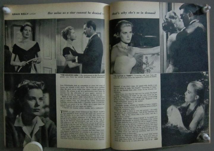 Cine: YC99 GRACE KELLY COLECCION DE 8 REVISTAS AMERICANAS 50s - Foto 9 - 106940667