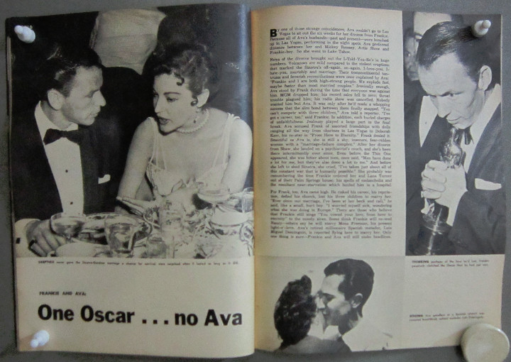 Cine: YD00 AVA GARDNER COLECCION DE 6 REVISTAS AMERICANAS 50s - Foto 3 - 106942695