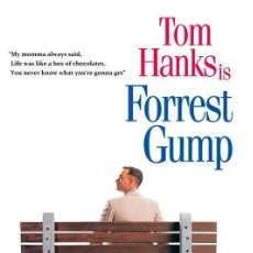Cinema: FORREST GUMP. LÁMINA CARTEL DE CINE 45 X 32 CMS.. Lote 107004543