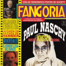 Cine: REVISTA FANGORIA Nº 8 - PRIMERA ÉPOCA - EDICIONES ZINCO-MAYO 1992. Lote 107240627