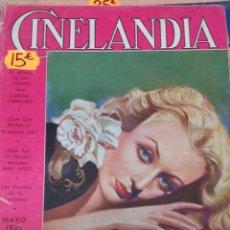 Cine: CINELANDIA. MAYO 1935. Lote 107363619