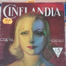 Cine: CINELANDIA. DICIEMBRE 1933. Lote 107363679