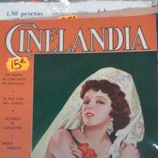 Cine: CINELANDIA. JULIO 1935. Lote 107363756