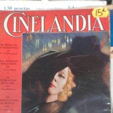 Cine: CINELANDIA. DICIEMBRE 1934. Lote 107363952