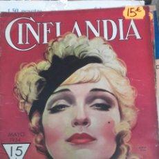 Cine: CINELANDIA. MAYO 1934. Lote 107364019