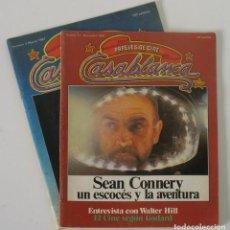 Cine: REVISTAS DE CINE CASABLANCA DE 1981. Lote 107566407