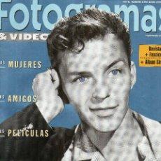 Cine: SUPLEMENTO DE FOTOGRAMAS DEDICADO A FRANK SINATRA. Lote 107672571