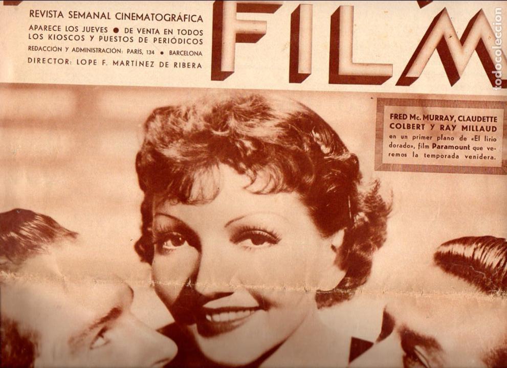 POPULAR FILM Nº 467 - 1 AGOSTO 1935 (Cine - Revistas - Popular film)