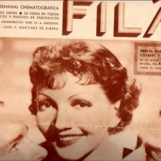 Cine: POPULAR FILM Nº 467 - 1 AGOSTO 1935. Lote 107737819