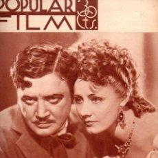 Cine: POPULAR FILM Nº 439 - 17 ENERO 1935. Lote 107738255