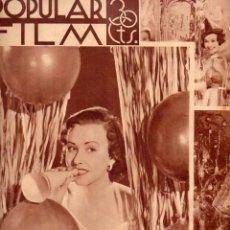 Cine: POPULAR FILM Nº 436 - 27 DICIEMBRE 1934. Lote 107738451