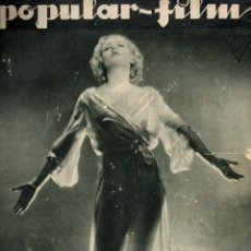 Cine: POPULAR FILM Nº 341 - 23 FEBRERO 1933. Lote 107738851