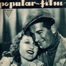 Cine: POPULAR FILM Nº 337 - 26 ENERO 1933. Lote 107738915