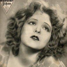 Cine: POPULAR FILM Nº 321 - 6 OCTUBRE 1932. Lote 107738999