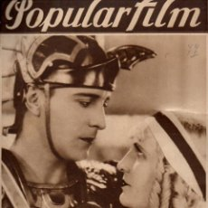 Cine: POPULAR FILM Nº 77 - 19 ENERO 1928. Lote 107739655