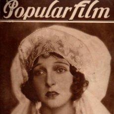 Cine: POPULAR FILM Nº 88 - 5 ABRIL 1928. Lote 107739787