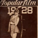 Cine: POPULAR FILM Nº 75 - 5 ENERO 1928. Lote 107740055