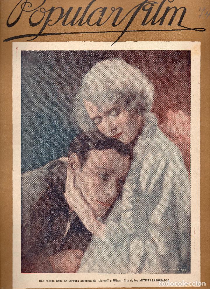 POPULAR FILM Nº 74 - 29 DICIEMBRE 1927 (Cine - Revistas - Popular film)