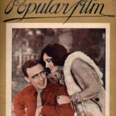 Cine: POPULAR FILM Nº 70 - 1 DICIEMBRE 1927. Lote 107740279